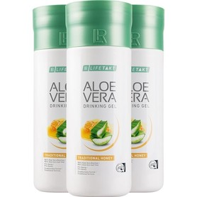 ALOE VERA DRINKING GEL TRADITIONAL HONEY TRÓJPAK