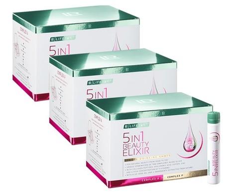 LR LIFETAKT 5in1 Beauty Elixir Trójpak